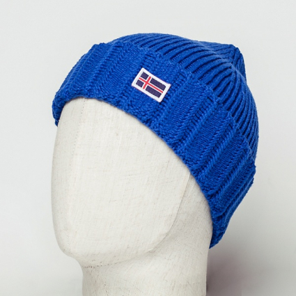 Шапка Beanie IS Royal Blue h23