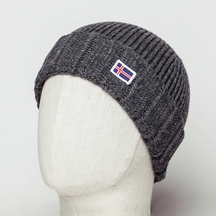 Шапка Beanie IS Grey h05