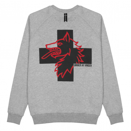 Толстовка Cross Ulv Heather Grey  1
