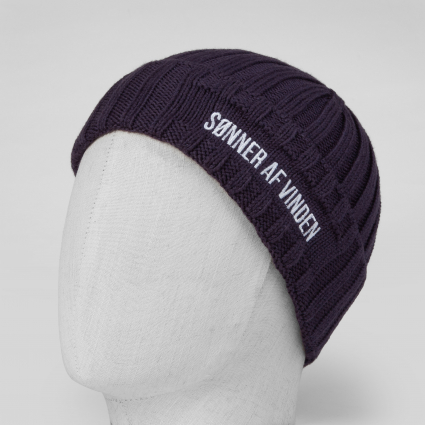 Шапка Beanie Bar Purple 1