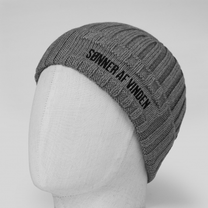 Шапка Beanie Bar Grey 1