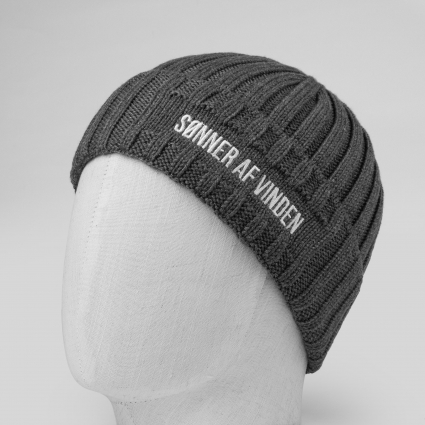 Шапка Beanie Bar Dark Grey 1