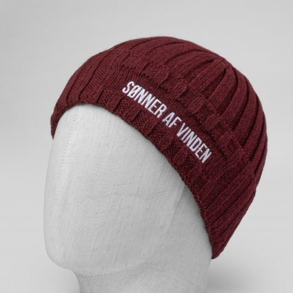 Шапка Beanie Bar Bordeaux 1