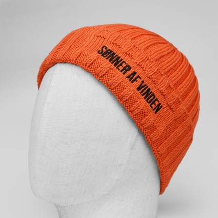 Шапка Beanie Bar Orange 1