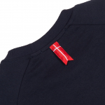 Толстовка Bar Logo Red Reflective Navy 4