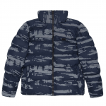 Куртка Winter S Jacket Camo Reflective Navy  1
