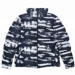 Куртка Winter S Jacket Camo Reflective Navy  2