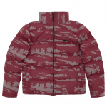 Куртка Winter S Jacket Camo Reflective Bordeaux 1