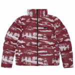 Куртка Winter S Jacket Camo Reflective Bordeaux 2