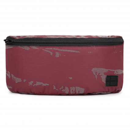 Сумка Belt Bag 2 Camo Reflective Bordeaux 1