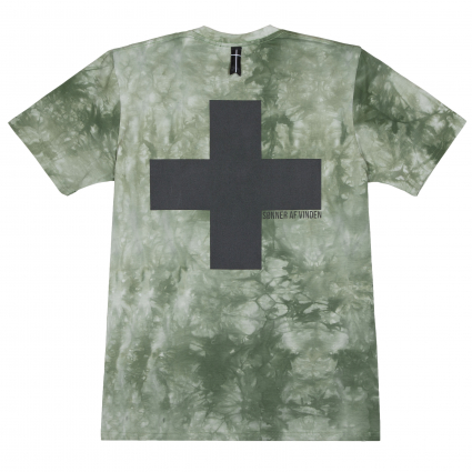 Футболка Cross BR Acid Wash Green 1